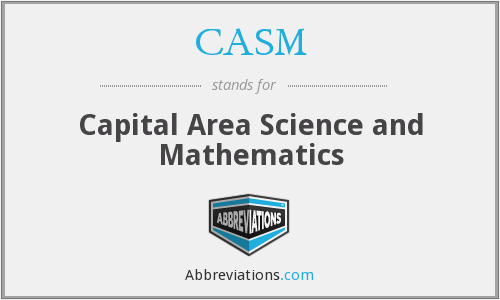 CASM - Capital Area Science and Mathematics