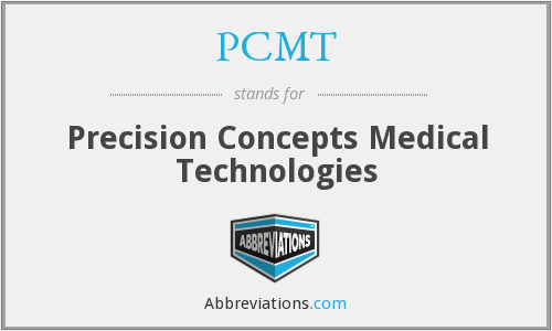 What does PCMT stand for?