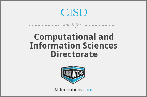 What does CISD stand for?