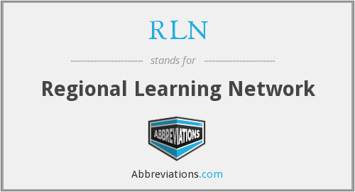 RLN - Regional Learning Network