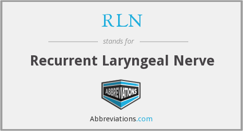 What does RLN stand for?