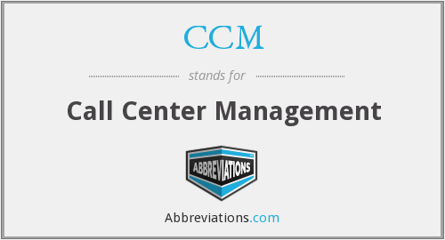 CCM - Call Center Management