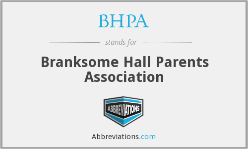 What does BHPA stand for?