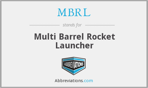 What does MBRL stand for?