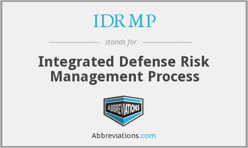 What does IDRMP stand for?