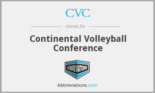 CVC - Continental Volleyball Conference