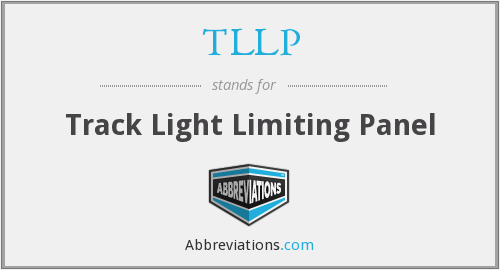 TLLP - Track Light Limiting Panel
