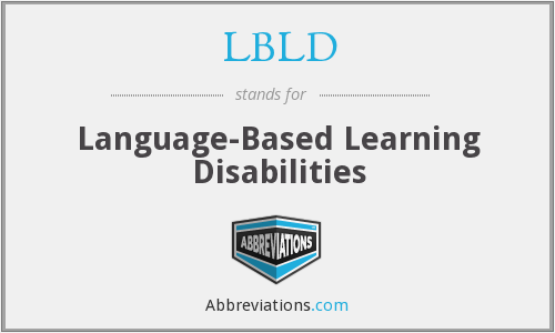 What does LBLD stand for?