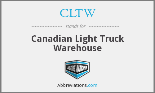 What does CLTW stand for?
