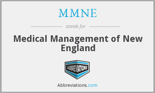 What does MMNE stand for?
