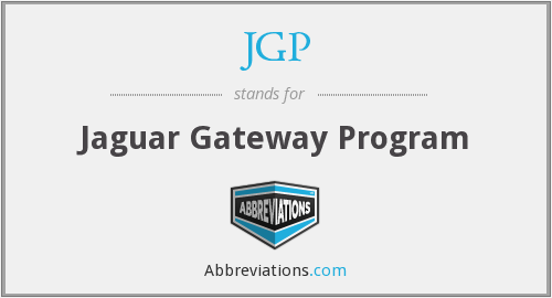 What does JGP stand for?