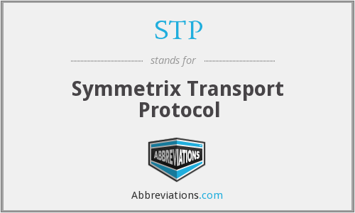 STP - Symmetrix Transport Protocol