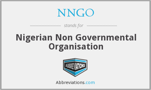 What does NNGO stand for?
