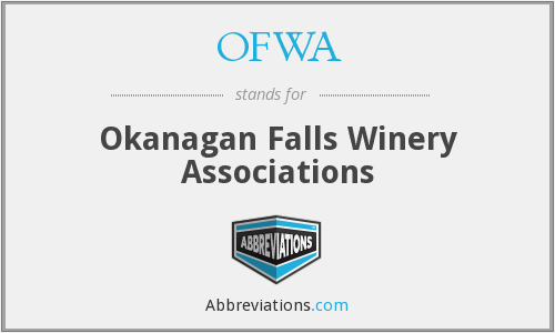OFWA - Okanagan Falls Winery Associations
