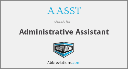 What does AASST stand for?