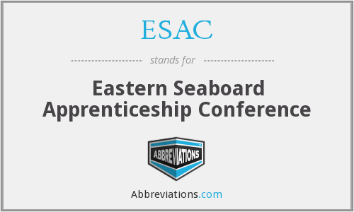 ESAC - Eastern Seaboard Apprenticeship Conference