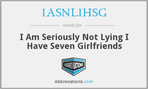 What does IASNLIHSG stand for?