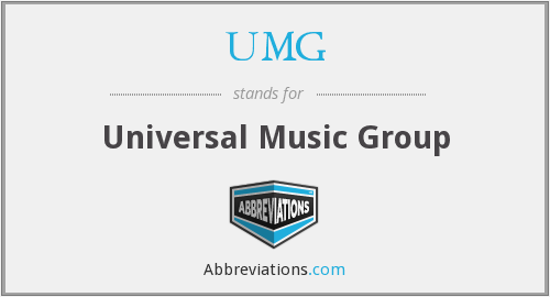 What does UMG stand for?