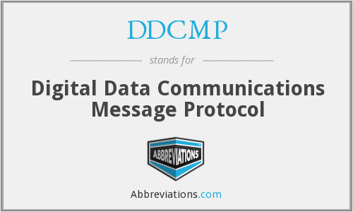 DDCMP - Digital Data Communications Message Protocol