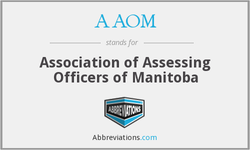 What does AAOM stand for?