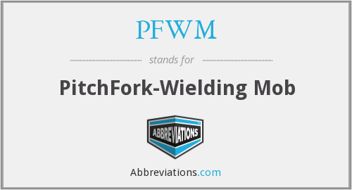 What does PFWM stand for?