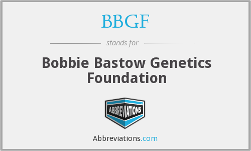 What does BBGF stand for?