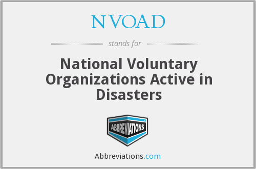What does NVOAD stand for?