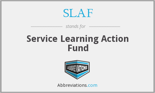 What does SLAF stand for?