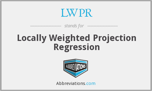 What does regression stand for?