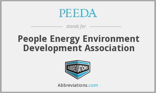 What does PEEDA stand for?