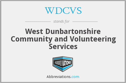 What does WDCVS stand for?