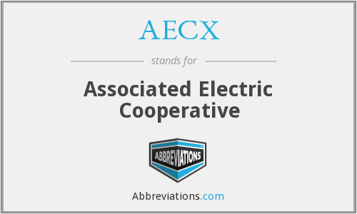 AECX - Associated Electric Cooperative