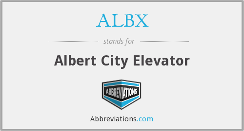 What does ALBX stand for?