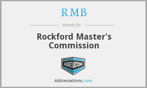 RMB - Rockford Master's Commission
