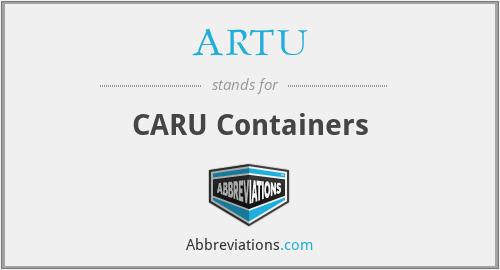 ARTU - CARU Containers