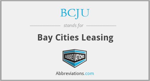 BCJU - Bay Cities Leasing
