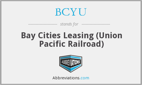 What does BCYU stand for?