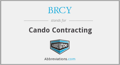 What does BRCY stand for?