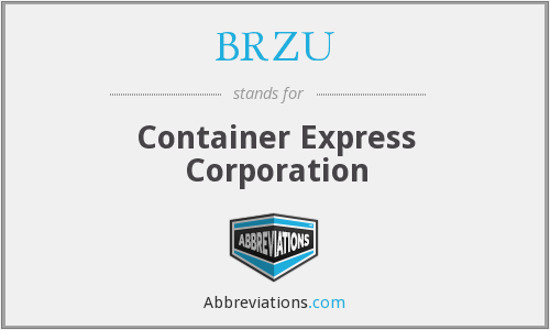 What does BRZU stand for?