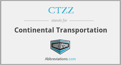 CTZZ - Continental Transportation
