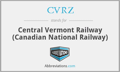 CVRZ - Central Vermont Railway (Canadian National Railway)