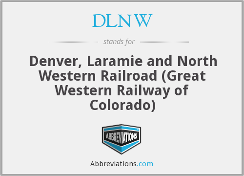 What does DLNW stand for?