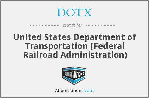 DOTX - United States Department of Transportation (Federal Railroad Administration)