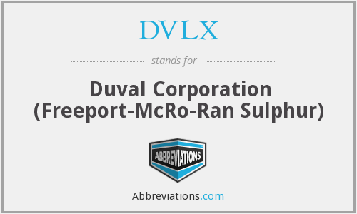 What does DVLX stand for?