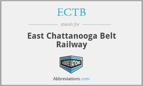 ECTB - East Chattanooga Belt Railway