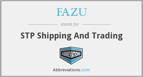 What does FAZU stand for?