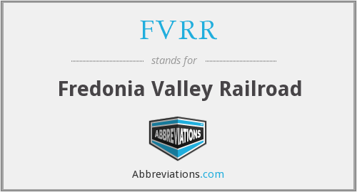 What does FVRR stand for?