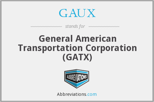What does GAUX stand for?