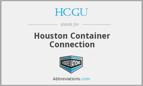 What does HCGU stand for?