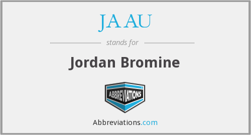 What does JAAU stand for?